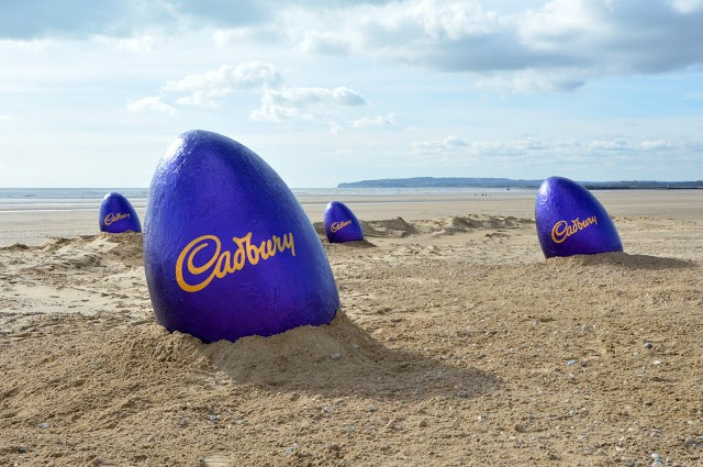 Cadbury Eggs Camber sands
